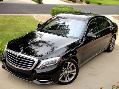 2015 Mercedes-Benz S-Class for sale at AZGT LLC in Phoenix AZ