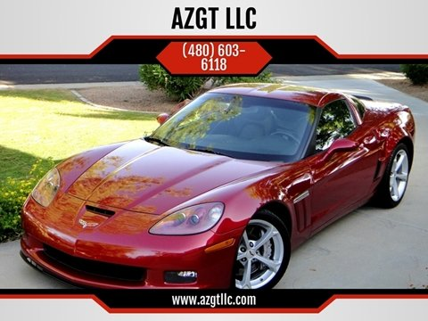 2012 Chevrolet Corvette for sale at AZGT LLC in Phoenix AZ
