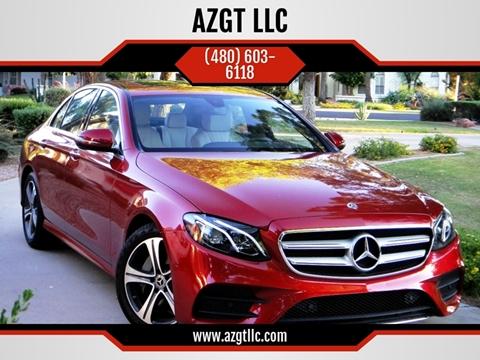 2017 Mercedes-Benz E-Class for sale at AZGT LLC in Phoenix AZ