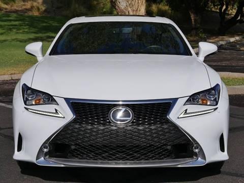2016 Lexus RC 300 for sale at AZGT LLC in Phoenix AZ