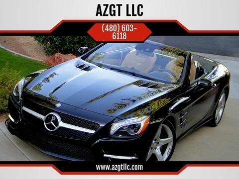 2016 Mercedes-Benz SL-Class for sale at AZGT LLC in Phoenix AZ