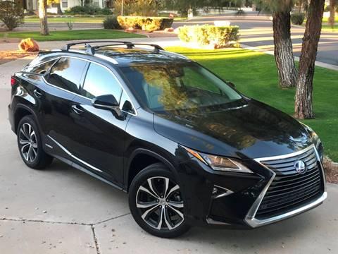 2016 Lexus RX 450h for sale at AZGT LLC in Phoenix AZ