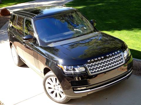 2016 Land Rover Range Rover for sale at AZGT LLC in Phoenix AZ