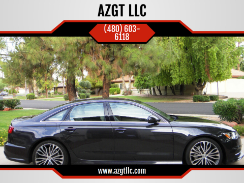 2017 Audi A6 for sale at AZGT LLC in Phoenix AZ