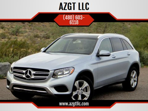 2016 Mercedes-Benz GLC for sale at AZGT LLC in Phoenix AZ