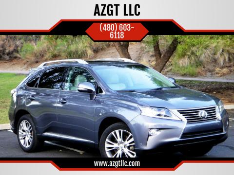 2014 Lexus RX 350 for sale at AZGT LLC in Phoenix AZ