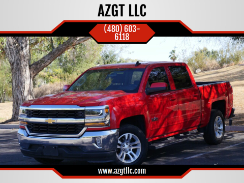 2016 Chevrolet Silverado 1500 for sale at AZGT LLC in Phoenix AZ
