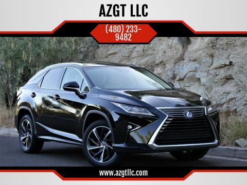 2018 Lexus RX 450h for sale at AZGT LLC in Phoenix AZ