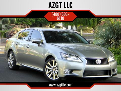 2015 Lexus GS 350 for sale at AZGT LLC in Phoenix AZ