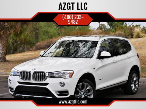 2017 BMW X3 for sale at AZGT LLC in Phoenix AZ