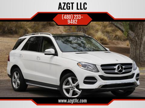 2017 Mercedes-Benz GLE for sale at AZGT LLC in Phoenix AZ
