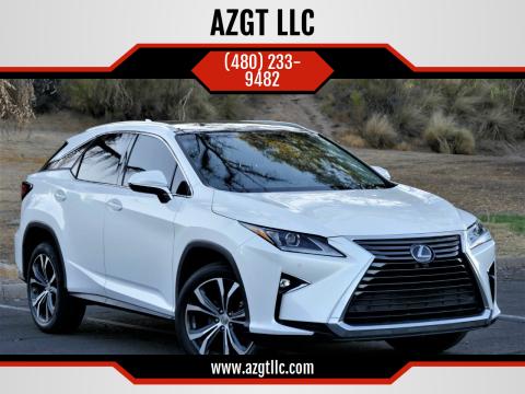 2017 Lexus RX 350 for sale at AZGT LLC in Phoenix AZ