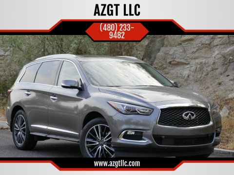 2017 Infiniti QX60 for sale at AZGT LLC in Phoenix AZ