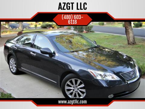 2007 Lexus ES 350 for sale at AZGT LLC in Phoenix AZ