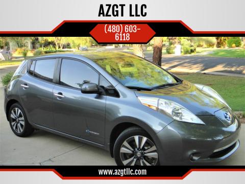 2015 Nissan LEAF for sale at AZGT LLC in Phoenix AZ
