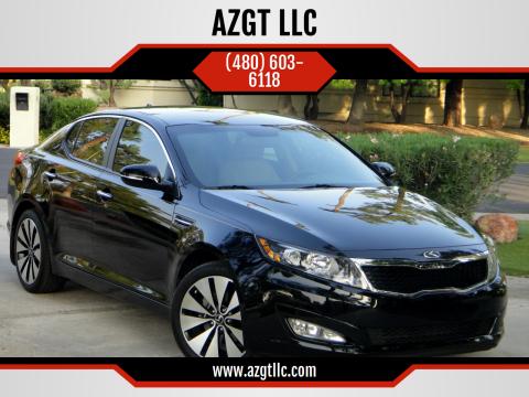 2012 Kia Optima for sale at AZGT LLC in Phoenix AZ
