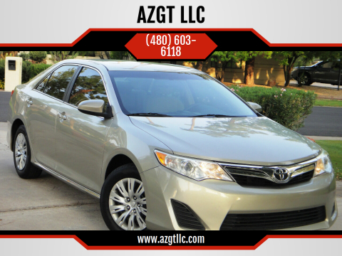2014 Toyota Camry for sale at AZGT LLC in Phoenix AZ