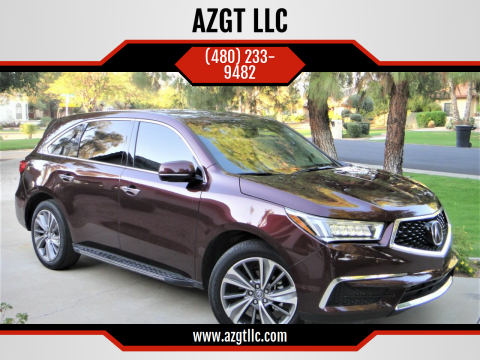 2017 Acura MDX for sale at AZGT LLC in Phoenix AZ