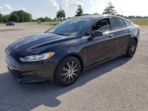 2013 Ford Fusion for sale at Nonstop Motors in Indianapolis IN