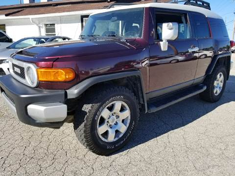 2007 Toyota FJ Cruiser for sale at Nonstop Motors in Indianapolis IN