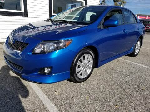 2010 Toyota Corolla for sale at Nonstop Motors in Indianapolis IN