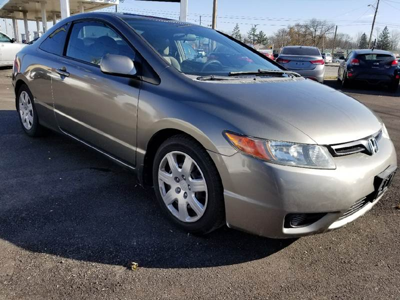 2007 Honda Civic LX 2dr Coupe (1.8L I4 5A) In Indianapolis IN ...