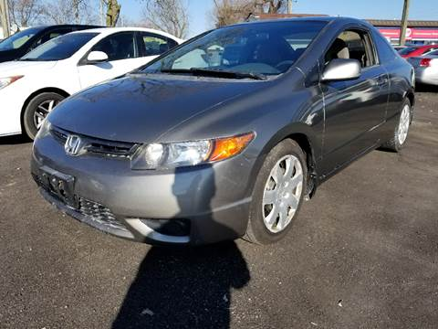 2007 Honda Civic for sale at Nonstop Motors in Indianapolis IN