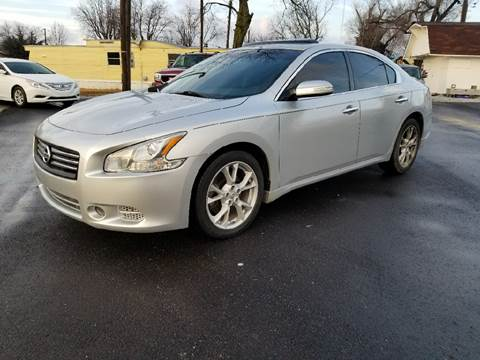 2013 Nissan Maxima for sale at Nonstop Motors in Indianapolis IN