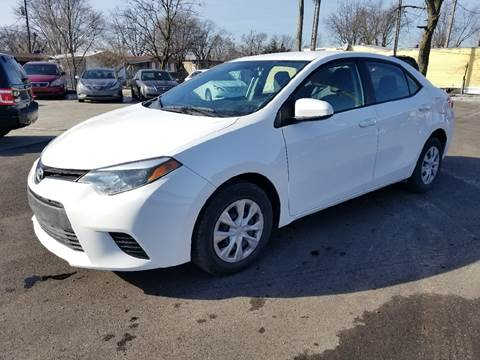 2014 Toyota Corolla for sale at Nonstop Motors in Indianapolis IN