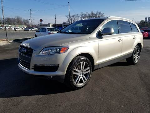 2008 Audi Q7 for sale at Nonstop Motors in Indianapolis IN