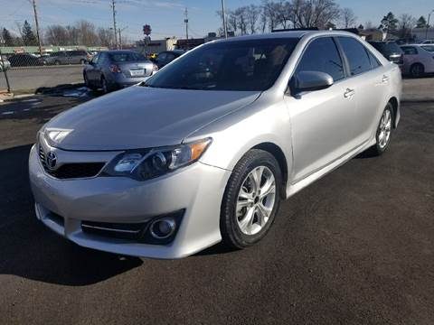 2014 Toyota Camry for sale at Nonstop Motors in Indianapolis IN