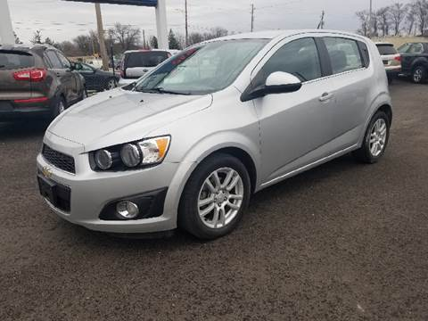 2013 Chevrolet Sonic for sale at Nonstop Motors in Indianapolis IN