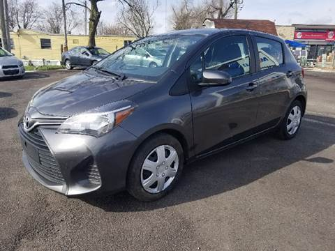 2015 Toyota Yaris for sale at Nonstop Motors in Indianapolis IN