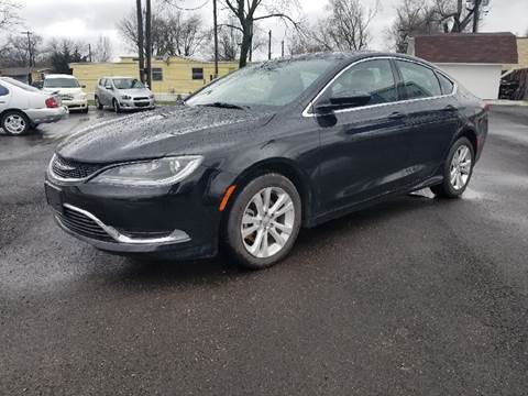 2015 Chrysler 200 for sale at Nonstop Motors in Indianapolis IN