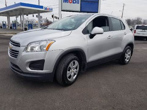 2016 Chevrolet Trax for sale at Nonstop Motors in Indianapolis IN