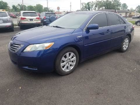 2009 Toyota Camry Hybrid for sale at Nonstop Motors in Indianapolis IN