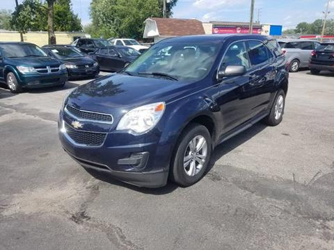 2015 Chevrolet Equinox for sale at Nonstop Motors in Indianapolis IN