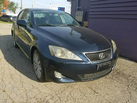 2006 Lexus IS 250 for sale at Nonstop Motors in Indianapolis IN