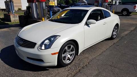2007 Infiniti G35 for sale at Nonstop Motors in Indianapolis IN