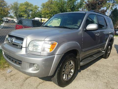 2006 Toyota Sequoia for sale at Nonstop Motors in Indianapolis IN