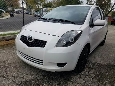 2008 Toyota Yaris for sale at Nonstop Motors in Indianapolis IN
