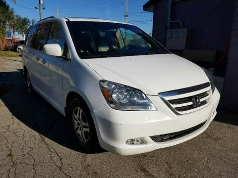 2006 Honda Odyssey for sale at Nonstop Motors in Indianapolis IN