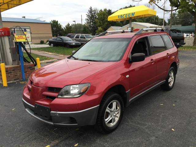 2004 Mitsubishi Outlander for sale at Nonstop Motors in Indianapolis IN