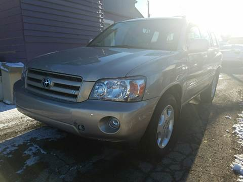 2006 Toyota Highlander for sale at Nonstop Motors in Indianapolis IN