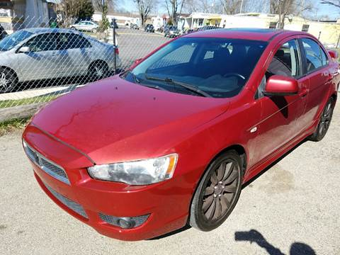 2008 Mitsubishi Lancer for sale at Nonstop Motors in Indianapolis IN