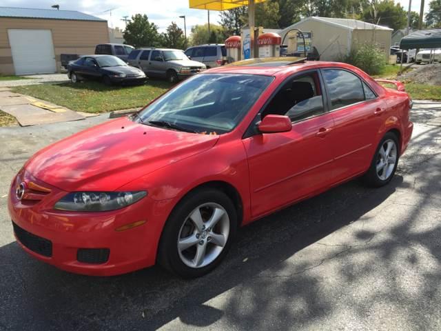 2008 Mazda MAZDA6 for sale at Nonstop Motors in Indianapolis IN