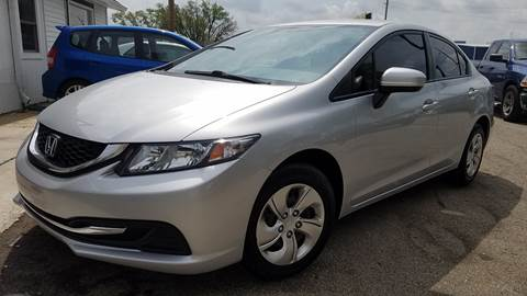 2014 Honda Civic for sale at Nonstop Motors in Indianapolis IN