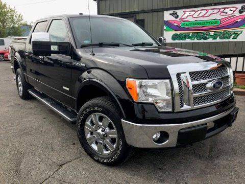 2012 Ford F-150 for sale at Pop's Automotive in Cortland NY