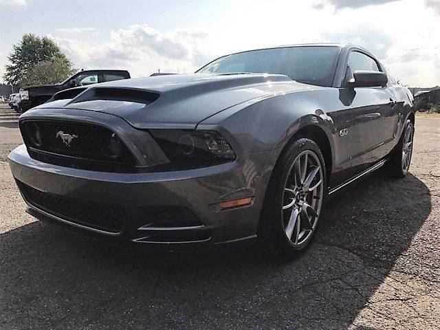 2014 Ford Mustang for sale at Pop's Automotive in Cortland NY