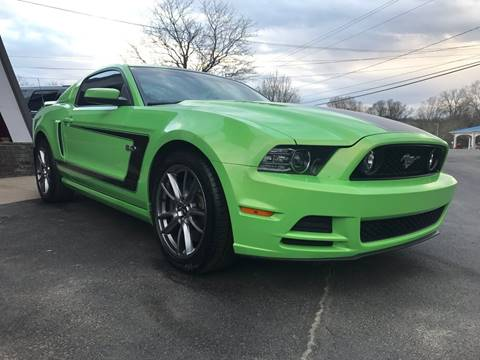 2014 Ford Mustang for sale at Pop's Automotive in Homer NY